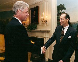 Zan McLeod Bill Clinton