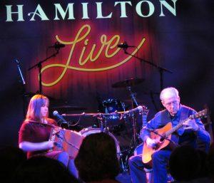 Zan at the Hamilton
