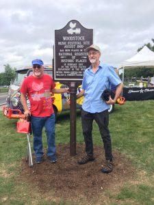 Kevin & Zan at Woodstock