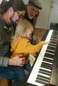 3 generations of McLeods playing music