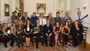 Musicians At The Irish Embassy