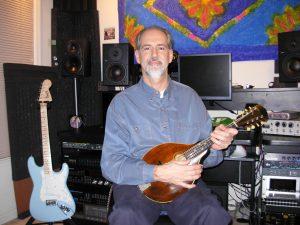 Zan at Recording Studio